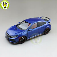 1/18 LCD Honda Civic Type-R Type R Diecast Model Car Toys Gifts Blue