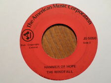 AMERICAN/CUCA 45 RECORD /WINDFALL/HAMMER OF HOPE/TOMMY BARTLETT/ VG/VG MINUS