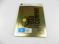 Mint Disc Xbox 360 Bad Company Battlefield Gold Edition Works on Xbox One