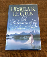 SIGNED Ursula Le Guin FISHERMAN OF THE INLAND SEA 1994 1st Edition 1st Printing!