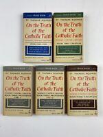 St. Thomas Aquinas: On The Truth Of The Catholic Faith (Full 5 Book Set) Image