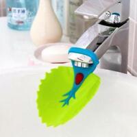 1Pcs Hahn Extender Für Hilft Kleinkind Kinder Händewaschen Blatt Art Sink S6R6