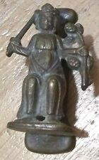 Vintage Tudor Royalty Doorknocker - Brass Unusual Door Antique Knocker King