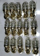 nautical new marine brass ship american passageway light 15 piece