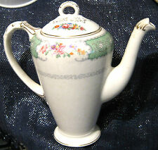 Princess empire china Floral Coffee Pot approx 8 inches tall