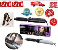 Braun - Hot Air Styler Warm-air Styling Curling Womens Hair Brush Comb 200 Watt