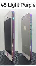 For iPhone Edge - Transparent Colour Change Vinyl Sticker - Edge Set Only