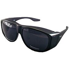 Solar Shield Sports Sunglasses Fits-Over SS Polycarbonate II Smoke