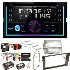 JVC KW-R930BT Bluetooth CD USB MP3 Einbauset für Audi A4 B7 Seat Exeo