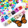 Art Nail Decoration Nail Glitter Sequins Holographic Laser 3D Butterfly Flakes