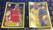 Merlin Premier League 2000 - 2 X Mega Pegatinas del milenio