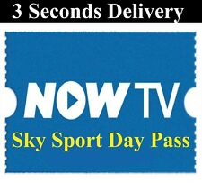 NOW TV SKY SPORTS DAY PASS - INSTANT DISPATCH Delivery