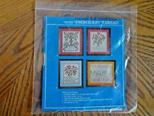 Vogart Crafts Embroidery Thread Sampler 7938 C To Love Beauty is to Admire Natur
