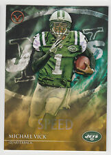 MICHAEL VICK 2014 Topps Valor Football Speed Parallel Card #131 Jets