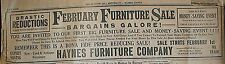 HAYNES FURNITURE AD GLASGOW, KY THE GLASGOW REPUBLICAN