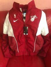 Miami Heat NBA Jacket Nike Nwt Size M Mens Red