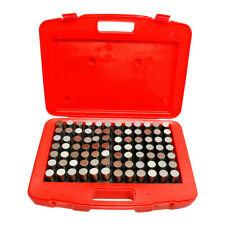 84 Pc Plus 0833 0916 M6 Steel Pin Gage Set Gauge Set Metal Steel Plug