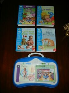 Leap Frog Little Touch Leap Pad Learning System with 4 Games