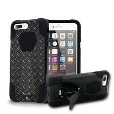 Rugged Dual Layered Tactical Case w/Stand Cover for iPhone 7 / 8 / Plus