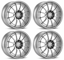 ENKEI Silver NT03+M in SILVER - SET OF FOUR 18x9.5 Rims 5x108 +40mm FOCUS ST RS!
