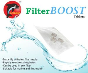 FilterBoost Tablet Phosphate remover 6 Tablets For Up To 200L/52.8Gal