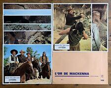 L OR DE MACKENNA - Gregory PECK Omar SHARIF - 8 photos Lobby Cards 1969