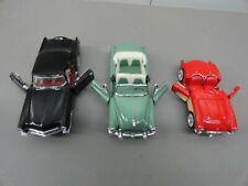 FRANKLIN MINT PRECISION MODELS  DIECAST TOY CAR ( 3pk bundle)