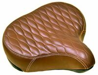 FITO GS OVERSIZE BICYCLE SEAT SADDLE, CRUISER COMFORT CITY ELECTRIC BIKES BROWN