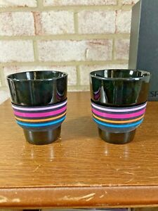 NESPRESSO Touch Collection Lungo Cups set of 2, Geckeler Michels Limited Edition