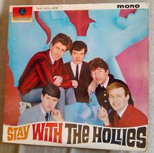 THE HOLLIES - STAY WITH THE HOLLIES 1st UK  PMC1220 LARGE MONO 1964