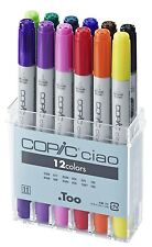 COPIC CIAO Marker 12er Set 22075312 Starterset Basisset ideal für Einsteiger WoW