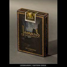 Leonardo Gold Edition by Legends Playing Tarjeta Company Póquer Juego de cartas