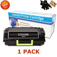 1PK 521 52D1000 Toner Cartridge for Lexmark MS810N MS810DN MS810DE MS810DTN