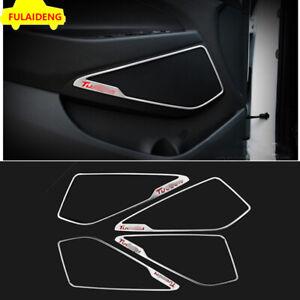 For Hyundai Tucson 2015-2021 stainless steel Inner Door Speaker Ring Cover Trim