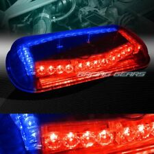 32 LED RED/BLUE CAR EMERGENCY ROOF TOP HAZARD WARN FLASH STROBE LIGHT UNIVERSAL