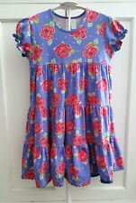 Matilda Jane 10 paint by numbers American Beauty blue rose floral twirl dress