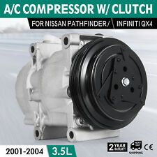 A/C Compressor for 01-03 fit Infiniti QX4 01-04 fit Nissan Pathfinder 67427