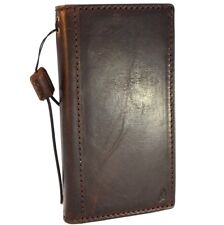 genuine leather Case fo Samsung Galaxy S9 book wallet slim cover holder handmade