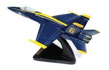 """BRAVO DELTA MODELS FA-18 HORNET """"BLUE ANGELS"""" WOODEN MODEL GREAT FOR DESKS"""