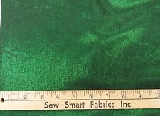"Emerald Green Iridescent Taffeta with Lurex, 48"" w, 3 yd. Pieces"