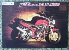 SUZUKI BANDIT 1200 MOTORCYCLE SALES BROCHURE MARCH 2000 REF- A0012-111