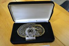 NOS Harley-Davidson Limited Edition 90th Anniversary Belt Buckle 389/3000 Cool
