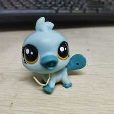 Littlest Pet Shop Orna Curley #3885 Platypus with Yellow Dotted Eyes