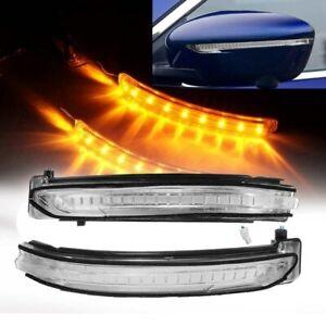 LED Side Mirror Turn Signal Light For Nissan X-Trail Rogue Qashqai Rogue Sport