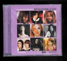 CD - Les Inrocks présentent Dix filles dans le vent - 10 titres Boite plastique