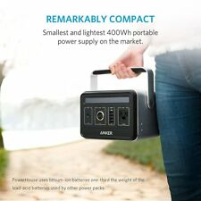 Anker PowerHouse silent inverter 434Wh/120,600mAh portable power New From Japan