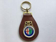 Alfa Romeo Schlüsselanhänger ORIGINAL Vintage Keychain Fob Keyring Rarität Oldti