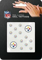 Pittsburgh Steelers Peel And Stick Nail Tattoos