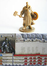 Zombicide Black Plague - Hero Ruff Ghanor + Cards