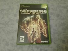 THE SUFFERING TIES THAT BAND HORROR - MICROSOFT XBOX ORIGINALE ITALIANO COMPLETO